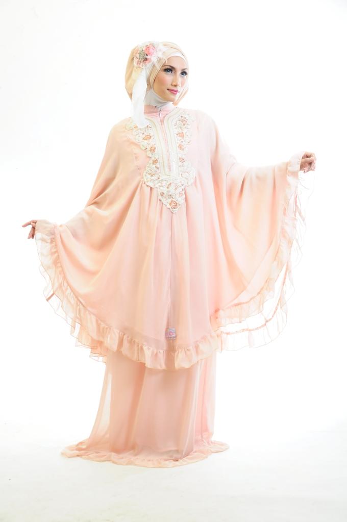 pengantin peach