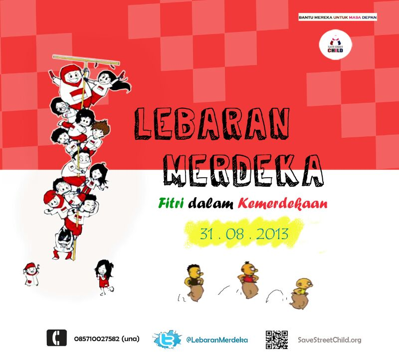 Lebaran Merdeka - Save Street Child (dp)