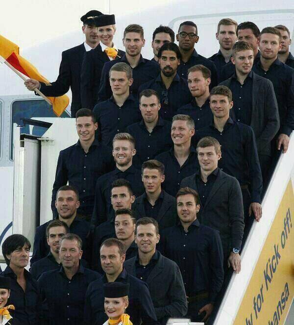 Die Deutschlandmanschaft