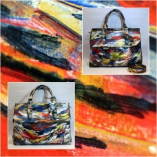 Monet Goresan Leather Bag